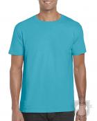 Camisetas Gildan Ring Spun    color Tropical Blue :: Ref: 280