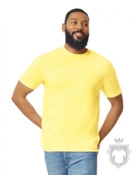 Camisetas Gildan Ring Spun    color Cornsilk :: Ref: 475