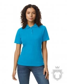 Polos Gildan Doble Piqué Softsyle W color Sapphire :: Ref: 026