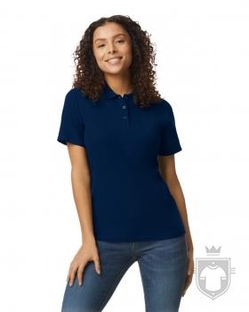 Polos Gildan Doble Piqué Softsyle W color Navy :: Ref: 032