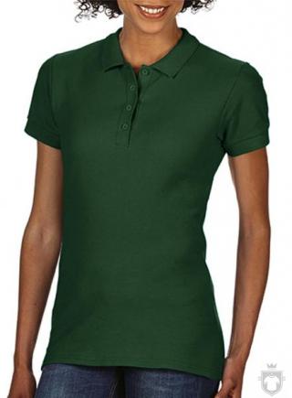 Polos Gildan Doble Piqué Softsyle W color forest green :: Ref: 033