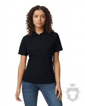 Polos Gildan Doble Piqué Softsyle W color Black :: Ref: 036