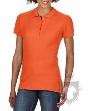 Polos Gildan Doble Piqué Softsyle W color orange :: Ref: 037
