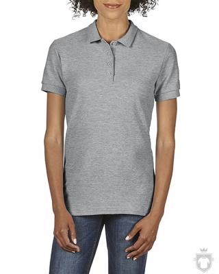 Polos Gildan Doble Piqué Softsyle W color Sport grey :: Ref: 095