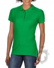 Polos Gildan Doble Piqué Softsyle W color Irish green :: Ref: 167