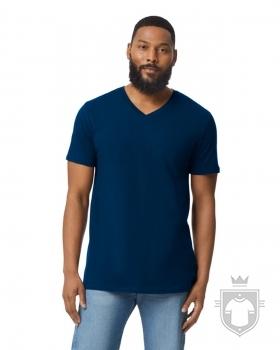 Camisetas Gildan Cuello V color Navy :: Ref: 032
