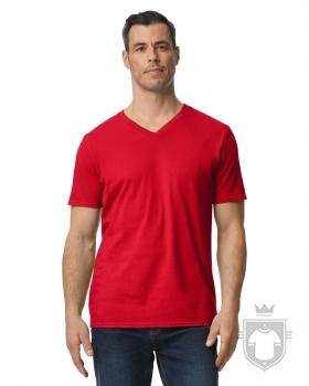 Camisetas Gildan Cuello V color red :: Ref: 040