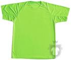 Camisetas ITM Tecnica color Verde fluor :: Ref: verde-fluor
