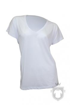 Camisetas JHK Subli Flowy W color White Sublimatable :: Ref: WHSB