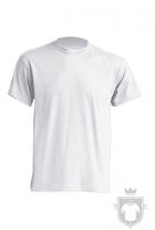 Camisetas JHK Subli 3XL color White Sublimatable :: Ref: WHSB
