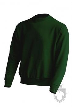 Sudaderas JHK Sweatshirt color Bottle Green :: Ref: BG