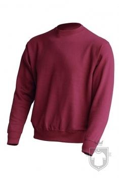 Sudaderas JHK Sweatshirt color Burgundy :: Ref: BU