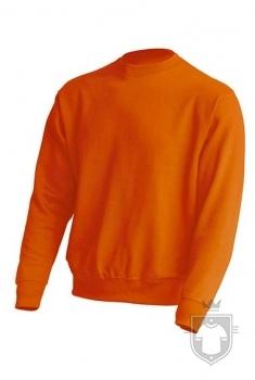 Sudaderas JHK Sweatshirt color Orange :: Ref: OR