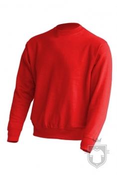 Sudaderas JHK Sweatshirt color Red :: Ref: RD