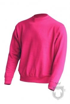 Sudaderas JHK Sweatshirt color Raspberry :: Ref: RP
