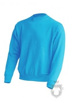 Sudaderas JHK Sweatshirt color Sky Blue :: Ref: SK