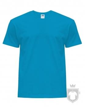 Camisetas JHK Regular color Aqua :: Ref: AQ
