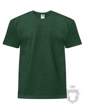 Camisetas JHK Regular Heather color Bottle Green Heather :: Ref: BGH