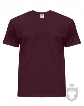 Camisetas JHK Regular color Burgundy :: Ref: BU