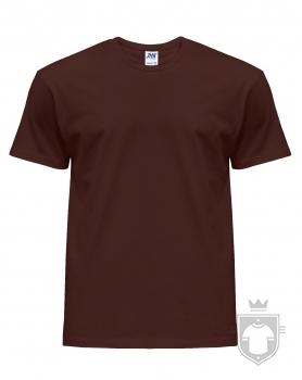 Camisetas JHK Regular color Chocolate :: Ref: CH