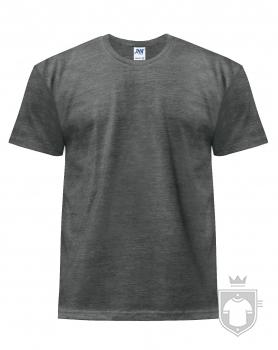 Camisetas JHK Regular Heather color Charcoal Heather :: Ref: CHCH