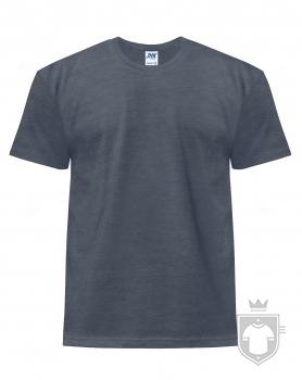 Camisetas JHK Regular Heather color Denim Heather :: Ref: DNH