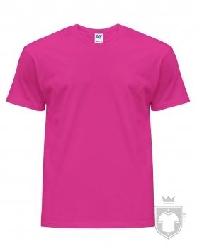Camisetas JHK Regular color Fucsia :: Ref: FU
