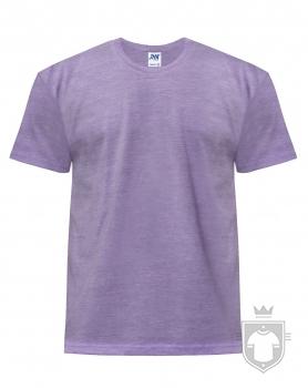 Camisetas JHK Regular Heather color Lavender heather :: Ref: LVH