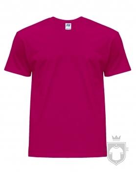Camisetas JHK Regular color Raspberry :: Ref: RP