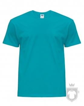 Camisetas JHK Regular color Turquoise :: Ref: TU