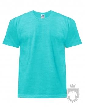 Camisetas JHK Regular Heather color Turquoise heather :: Ref: TUH