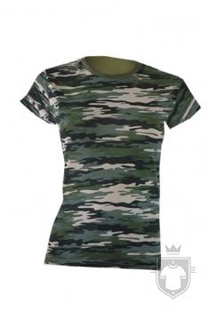 Camisetas JHK Comfort Camuflaje W color Camouflage :: Ref: CM