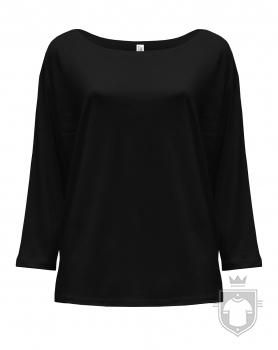 Camisetas JHK Maldivas W color Black :: Ref: BK