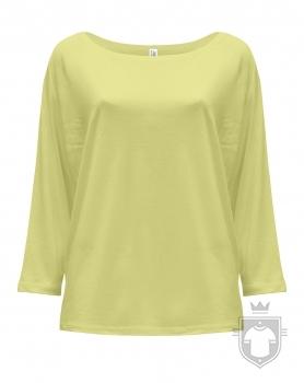 Camisetas JHK Maldivas W color Light Yellow Neon :: Ref: LYN