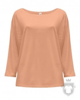 Camisetas JHK Maldivas W color Orange Neon :: Ref: ORN