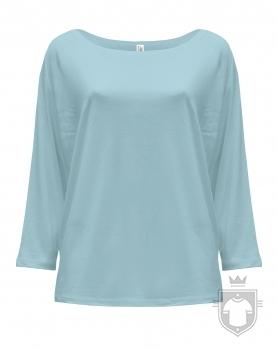 Camisetas JHK Maldivas W color Sky Blue Neon :: Ref: SKN