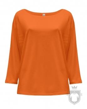 Camisetas JHK Maldivas W color Tangerine :: Ref: TG