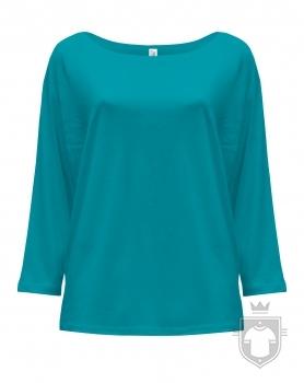 Camisetas JHK Maldivas W color Turquoise :: Ref: TU