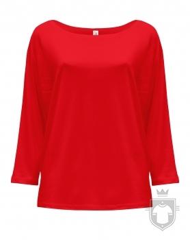 Camisetas JHK Maldivas W color Warm Red :: Ref: WR