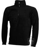 Chaquetas JN Half zip fleece color Black :: Ref: black