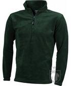 Chaquetas JN Half zip fleece color Dark green :: Ref: dark-green