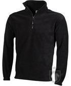 Chaquetas JN Half zip fleece color Dark grey :: Ref: dark-grey