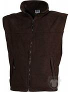 Chalecos JN Fleece vest color Brown :: Ref: brown