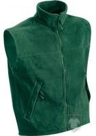 Chalecos JN Fleece vest color Dark green :: Ref: dark-green