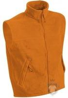Chalecos JN Fleece vest color Orange :: Ref: orange