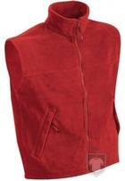 Chalecos JN Fleece vest color Red :: Ref: red