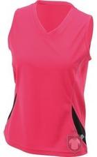 Camisetas JN Tirantes w color Berry - Black :: Ref: berry-black
