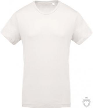 Camisetas Kariban Orgánica K371 color  :: Ref: cream