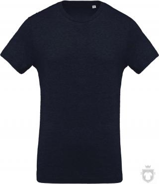 Camisetas Kariban Orgánica K371 color  :: Ref: french-navy-heather