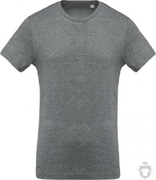 Camisetas Kariban Orgánica K371 color  :: Ref: grey-heather